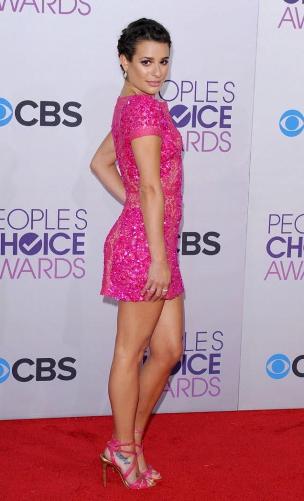 Lea Michele le 9 janvier 2013 à Los Angeles