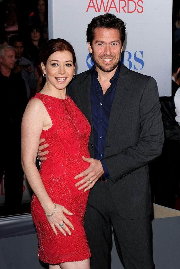Alyson Hannigan et son mari attendent la naissance avec impatience !