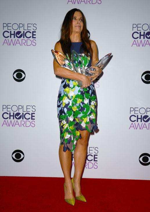 Sandra Bullock à la cérémonie des People's Choice Awards organisée à Los Angeles, le 8 janvier 2014