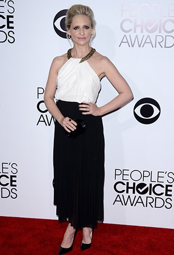 Sarah Michelle Gellar à Los Angeles le 8 janvier 2014
