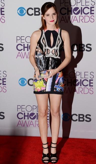 Emma Watson le 9 janvier 2012 à Los Angeles