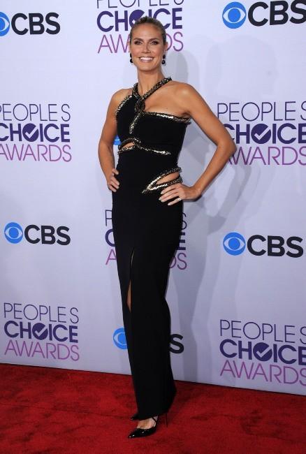 Heidi Klum le 9 janvier 2013 à Los Angeles