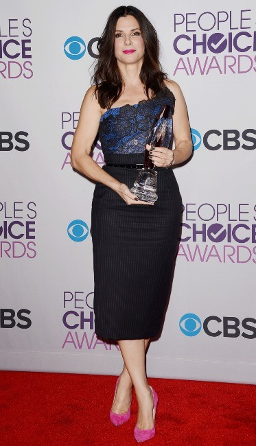 Sandra Bullock le 9 janvier 2013 à Los Angeles