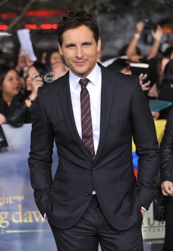 """Peter Facinelli lors de la première du dernier volet de """"Twilight"""" à Los Angeles, le 12 novembre 2012."""