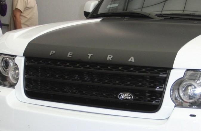 La fameuse voiture personnalisée de Petra Ecclestone !