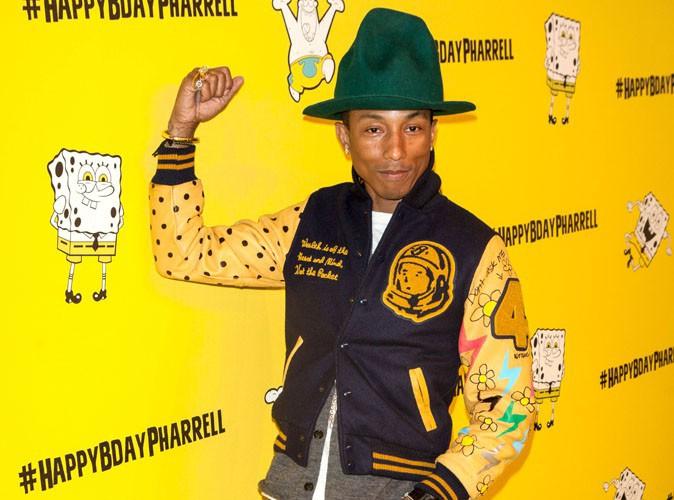 """Pharrell Williams : ambiance """"Bob l'éponge"""" pour fêter ses 41 ans !"""