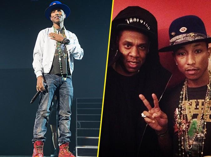 Photos : Pharrell Williams : Beyoncé et Jay-Z aux premières loges de son show parisien !