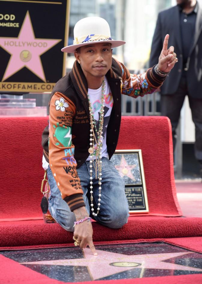 Pharrell Williams le 4 décembre 2014