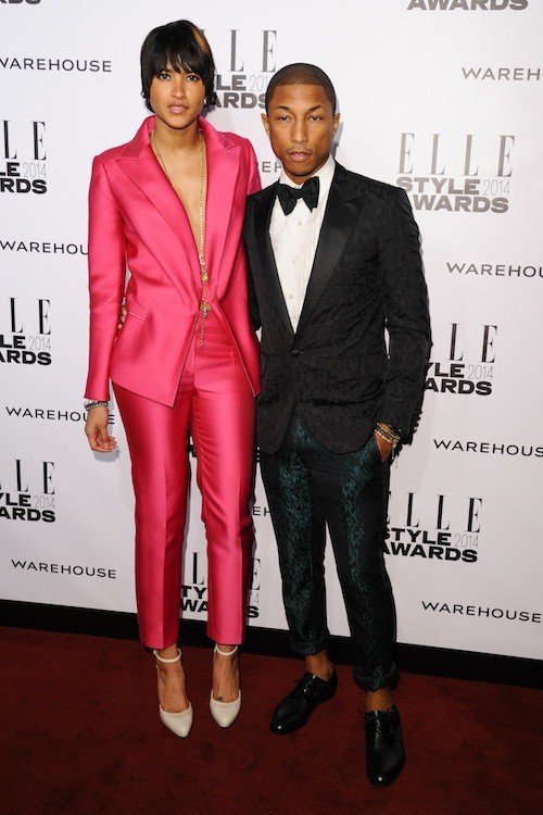 Photos : Pharrell Williams : le plus looké des ELLE Style Awards 2014 !