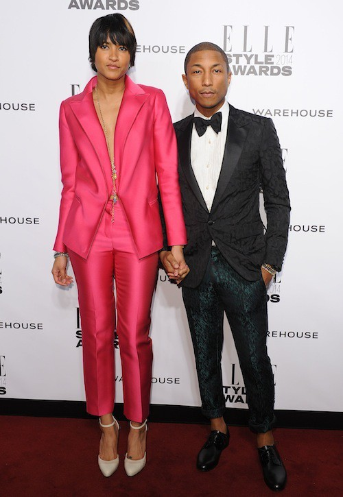 Photos : Pharrell Williams : le plus looké des ELLE Style Awards 2014 !