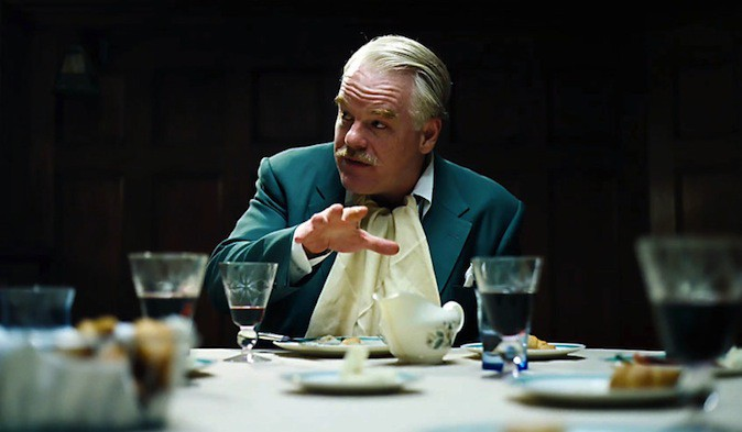 Philip Seymour Hoffman dans The Master !