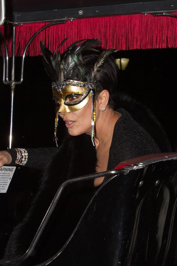 Kris Jenner à la fête d'anniversaire de Tine Knowles organisée à la Nouvelle-Orléans le 11 janvier 2014
