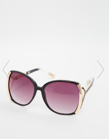 Lunettes oversize River Island (21.99€)