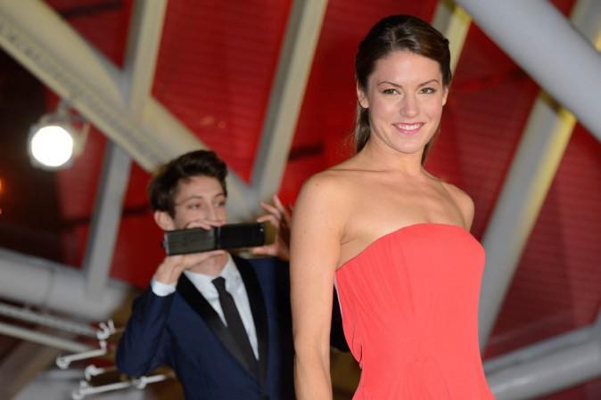 Pierre Niney accompagné de sa girlfriend Natasha Andrews au Festival du Film de Marrakech le 1er décembre 2013