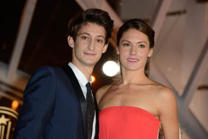 Pierre Niney accompagné de sa girlfriend Natasha Andrews au Festival du Film de Marrakech le 1er décembre 2013