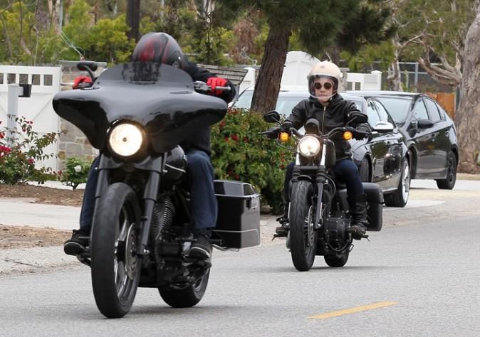 Pink et Carey Hart à Malibu le 6 juin 3013