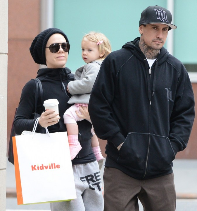Pink, Carey Hart et leur fille