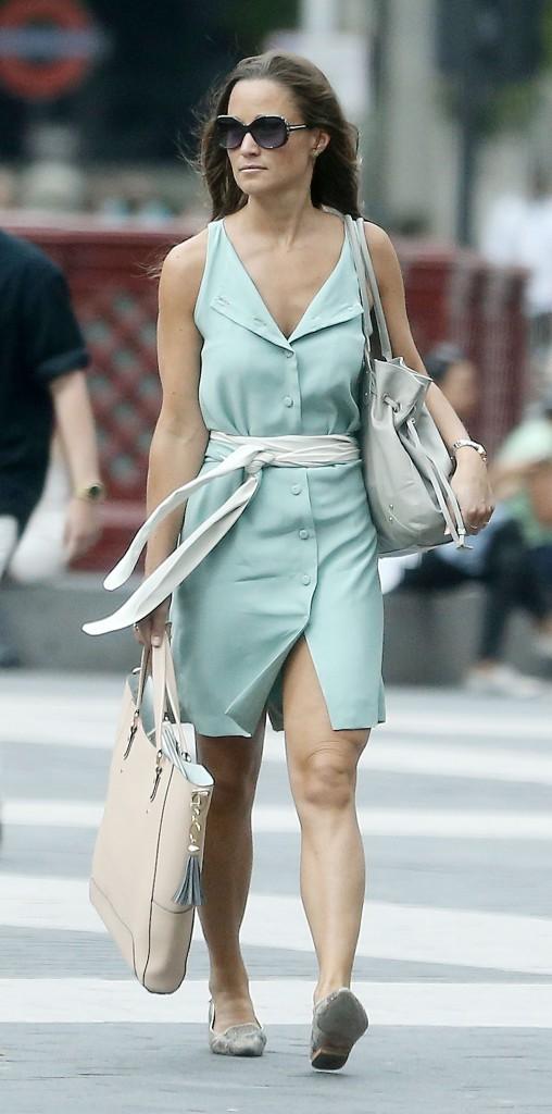 Pippa Middleton, à South Kensington, Londres le 4 septembre 2013
