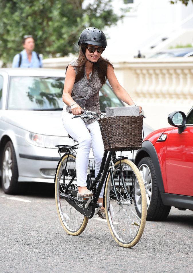 Pippa Middleton est rayonnante
