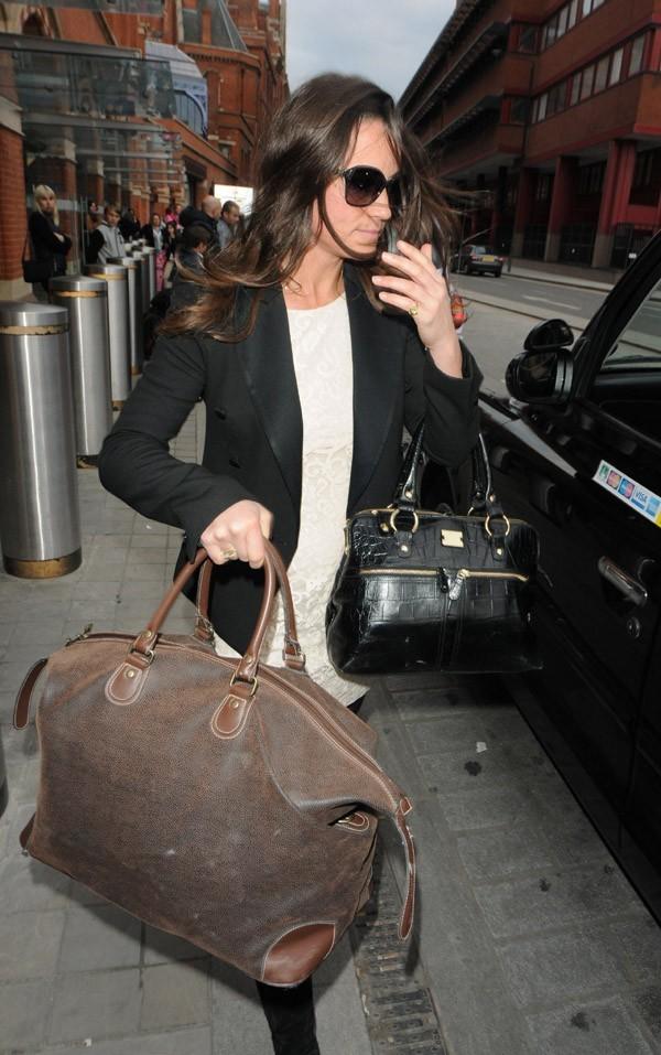 Pippa Middleton de retour à Londres !