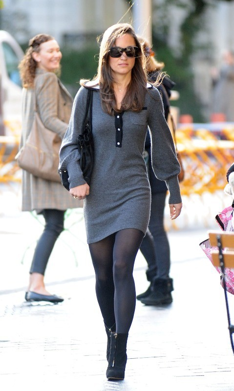 Pippa Middleton le 17 octobre 2012 à Londres