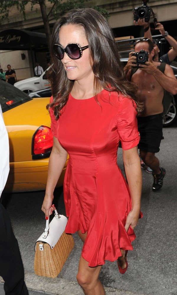 Pippa Middleton le 6 septembre 2012 à New York