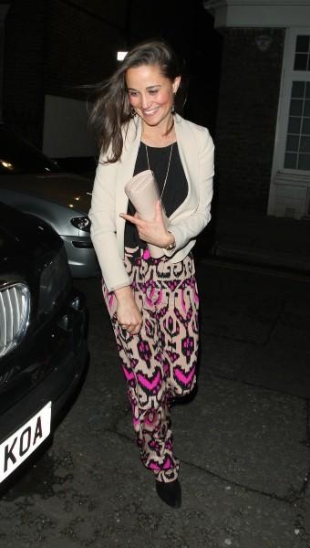Pippa Middleton, Londres, 9 mai 2013