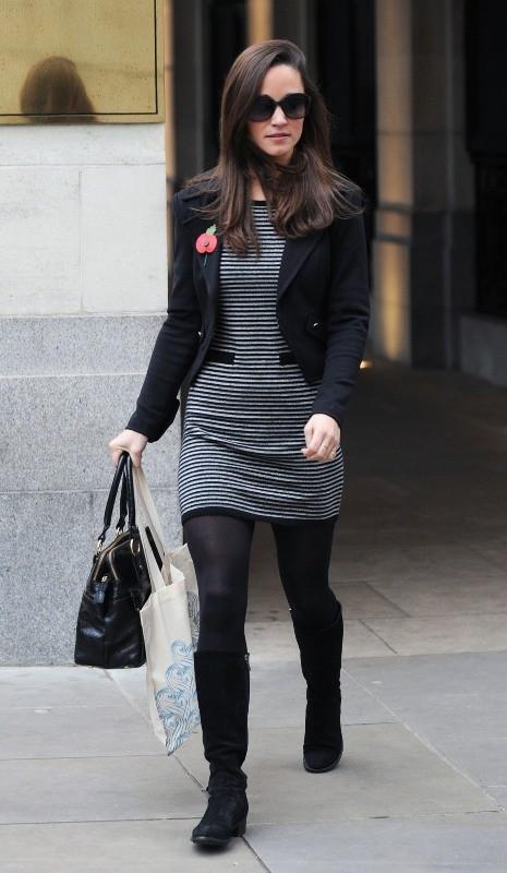 Pippa Middleton, Londres, 8 novembre 2012