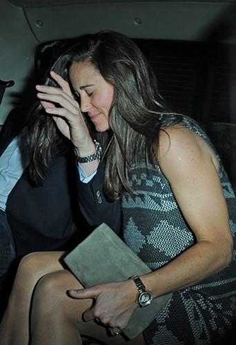 Pippa Middleton et son chéri à Londres le 25 avril 2013