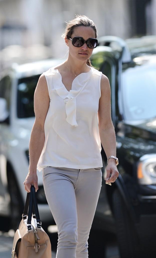 Pippa Middleton côté face