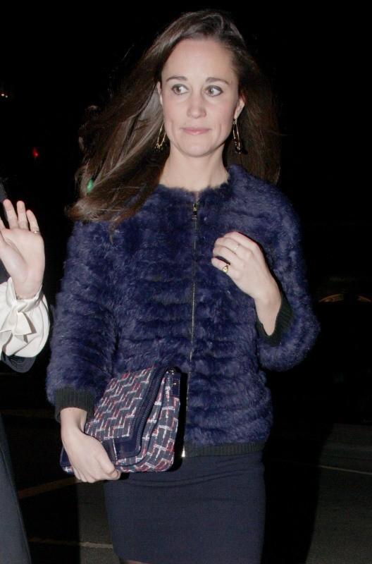 Pippa Middleton le 29 novembre 2012 à Londres