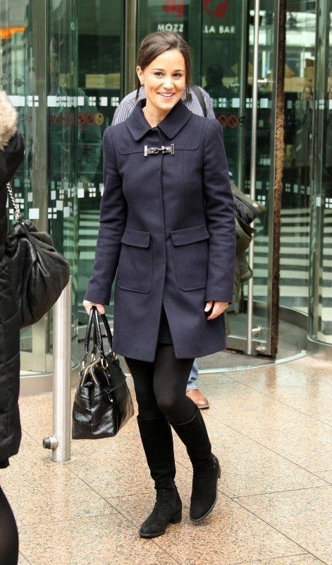 Pippa Middleton, Londres, 26 octobre 2012.