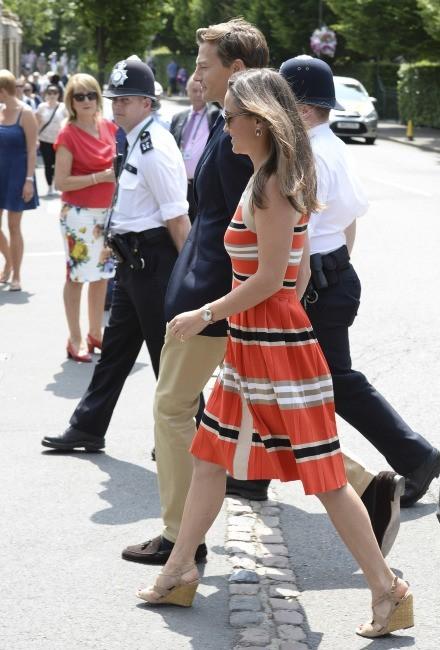 Pippa Middleton le 5 juillet 2013 à Londres