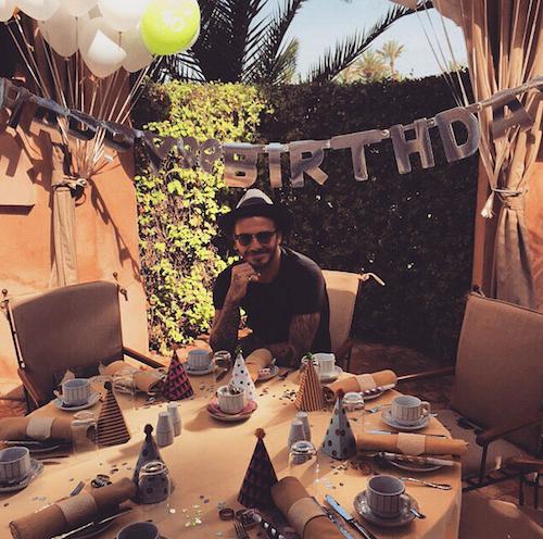 Photos : pour ses 40 ans, David Beckham s'offre un compte Instagram so sexy !