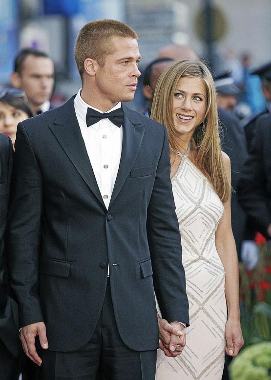 Photos : Jennifer Aniston et Brad Pitt, un couple assorti