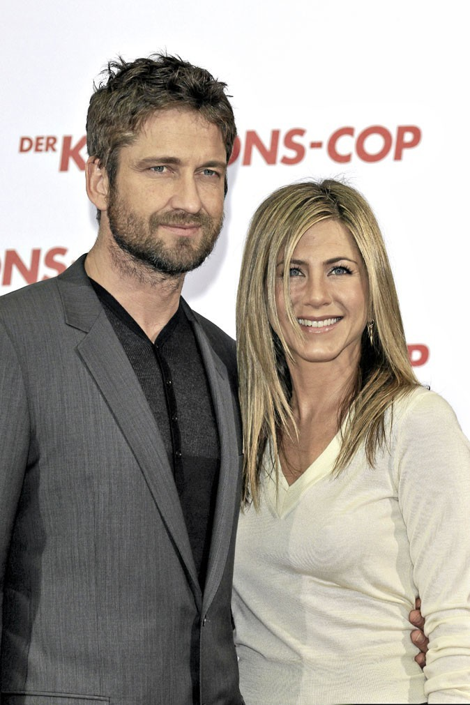 Photos : Jennifer Aniston et Gerard Butler, un couple compliqué