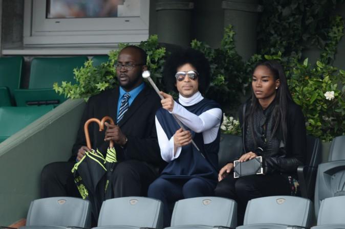 Prince : Après ses concerts parisiens, il se détend à Roland Garros !