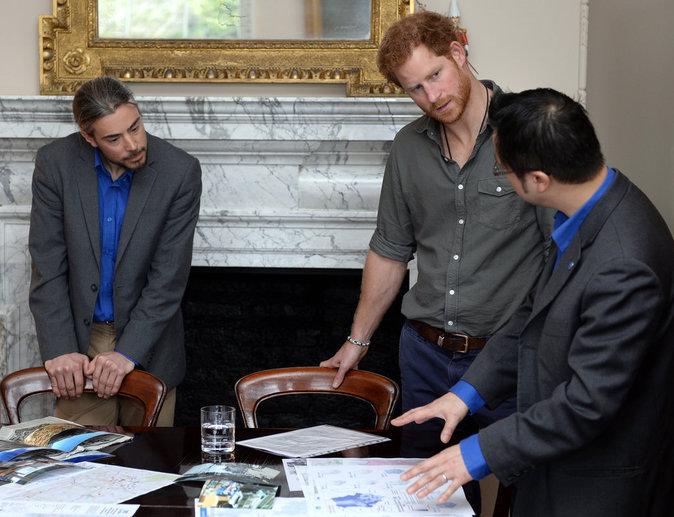 Photos : Prince Harry : à lui les petites Américaines !