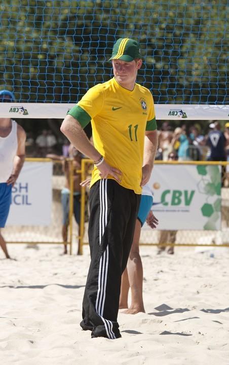 Prince Harry aux couleurs du Brésil !