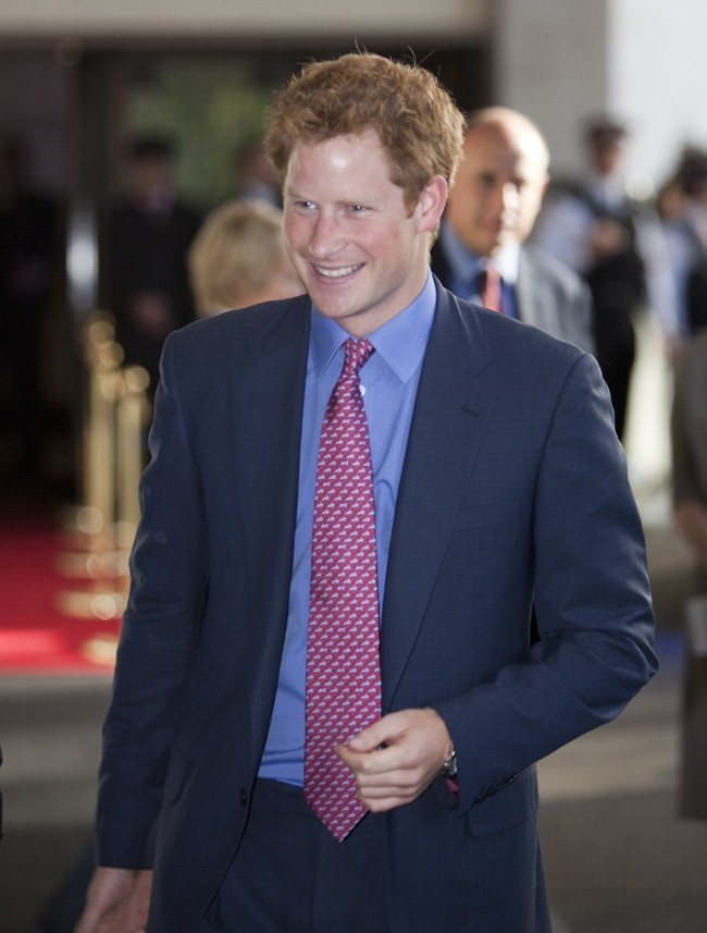 Le Prince Harry le 3 septembre 2012 à Londres