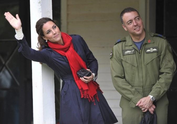 Kate inquiète pour son pilote de mari ?