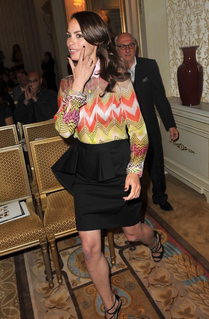 Bérénice Béjo lors de la remise des prix Romy-Schneider et Patrick-Dewaere à Paris, le 11 juin 2012.
