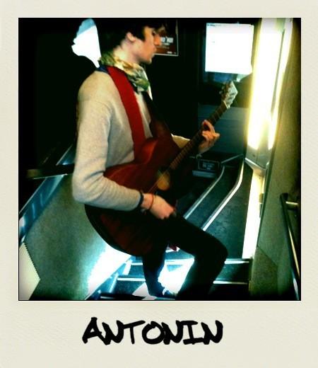 Antonin, très concentré !