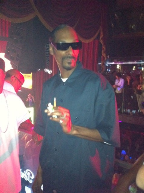 Snoop Dogg au VIP Room Theater pour son after-show, le 4 juillet 2011.