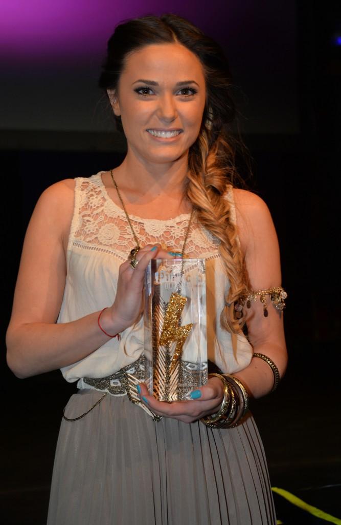 Capucine Anav : lauréate du Public Sexy Buzz Award