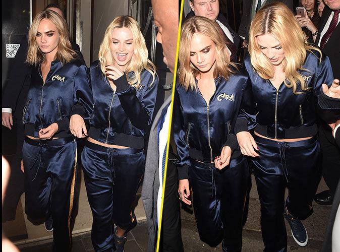 Cara Delevingne et Margot Robbie : Les jumelles s'emmêlent à Londres !