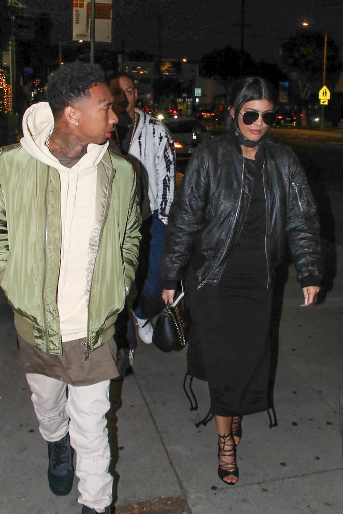 Photos : quand Kylie Jenner et Tyga se prennent pour Kim et Kanye West !