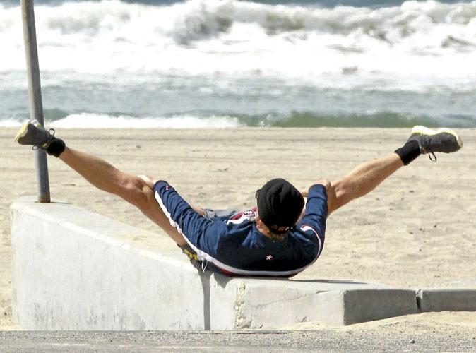 Photos : quand Matthew McConaughey fait de la gym, on se demande s'il attend pas quelqu'un !