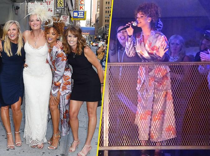 Quand Rihanna fait le show au mariage de sa styliste !