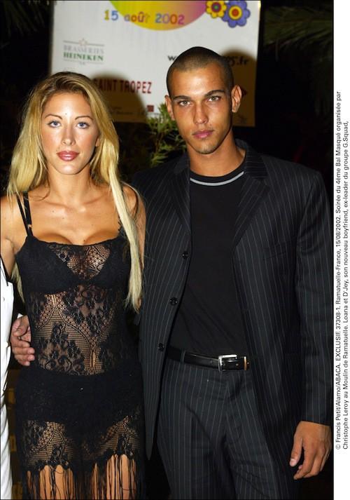 D'Jey (ex G-Squad) était le boyfriend de Loana en 2002 !